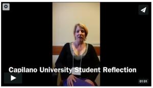Capilano student reflection
