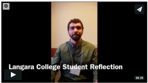 Langara College student reflection