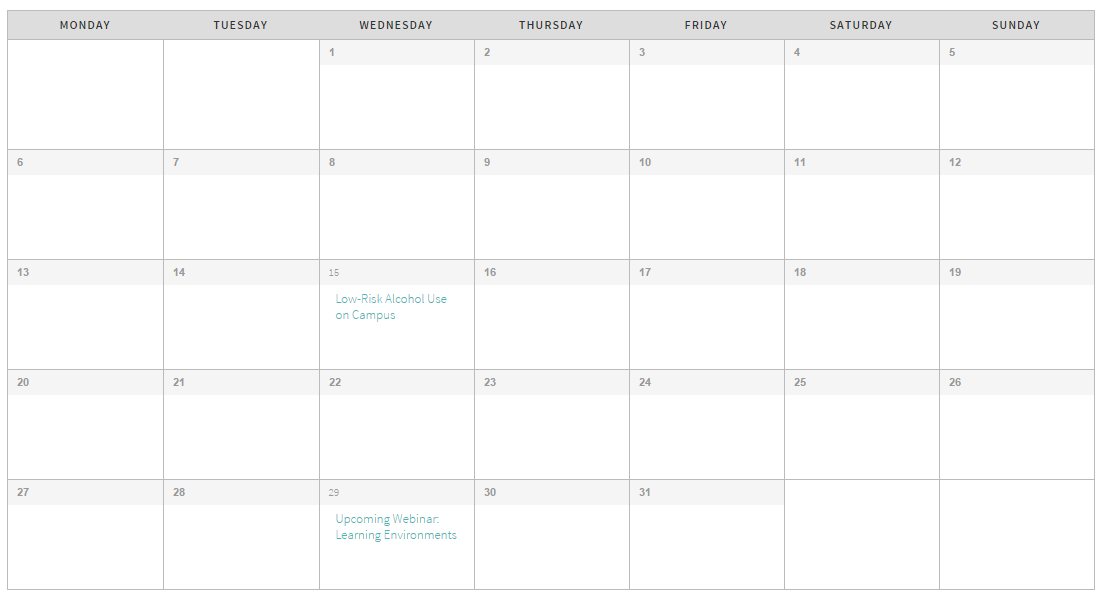 calendar sample image