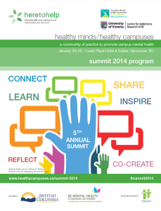 Summit 2014 program photo