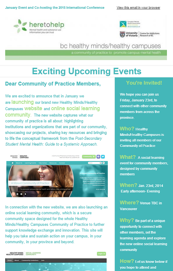 Exciting Upcoming Events