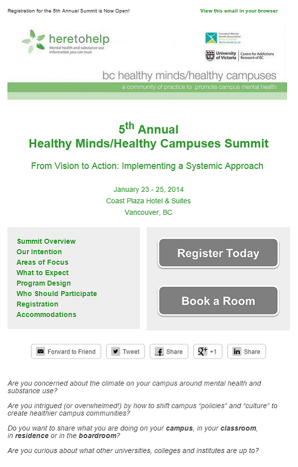 Invitation to Summit 2014
