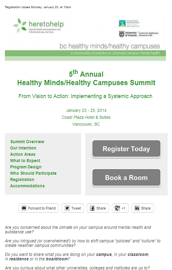 Summit 2014 Registration