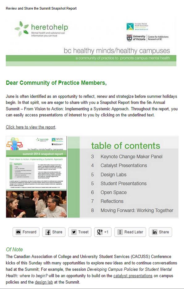 Download the Summit 2014 Snapshot Report