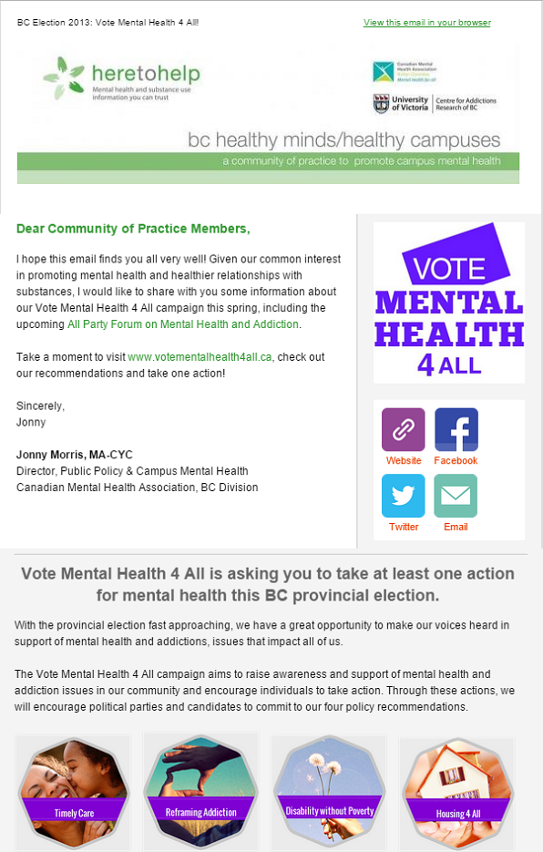 Vote Mental Health 4 All