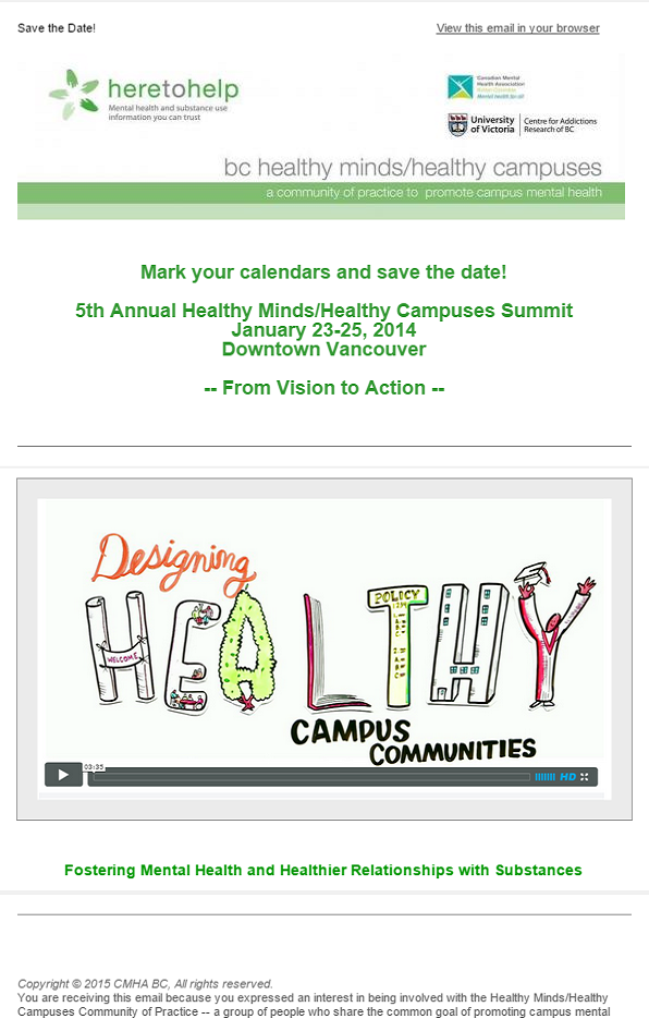 Save the Date: Summit 2014