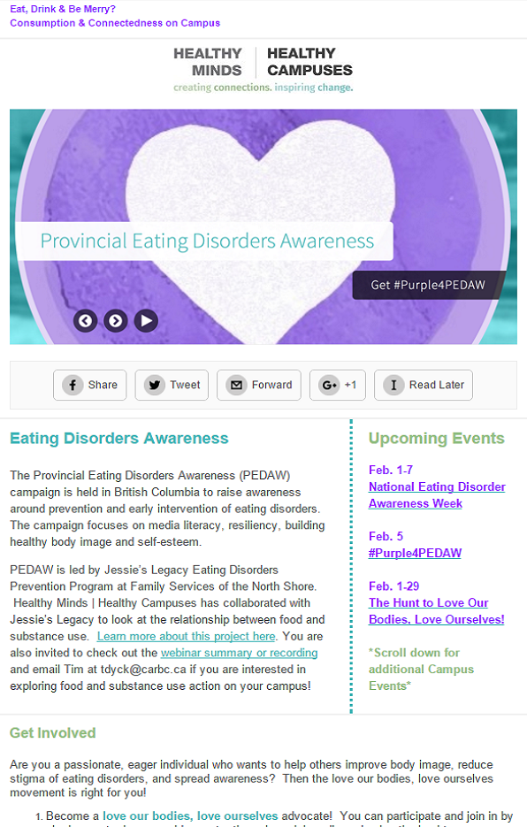 Eating Disorders Awareness