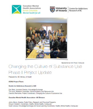 Changing the Culture of Substance Use Project