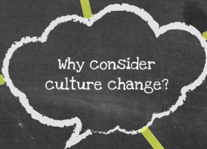 why consider culture change