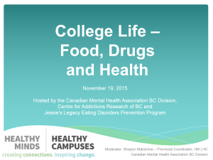 college life food drugs and health image