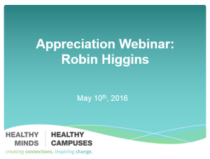 appreciation webinar robin higgins pics