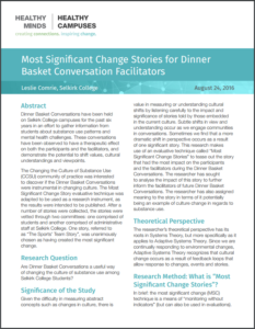 Most Significant Change Stories