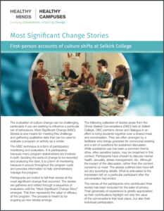 Selkirk Change Stories