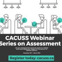 CACUSS webinar series