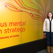 University of Calgary student researchers Art Assoiants, Clare Hickie and Nina Frampton developed the Program Evaluation Toolkit, a new project funded by the Campus Mental Health Strategy (CMHS).