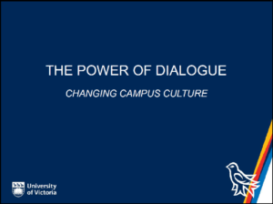 The Power of Dialogue: Chaning Campus Culture