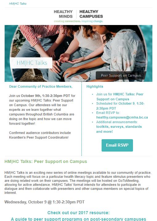 HM|HC Talks: Peer Support