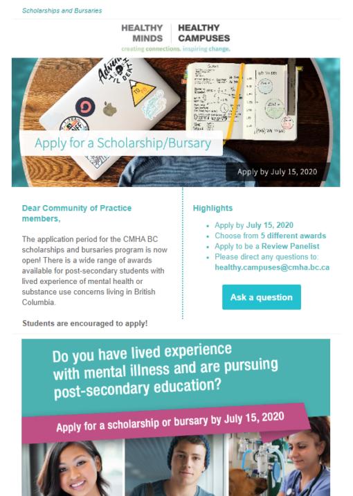 Apply For Scholarship/Bursary 2020