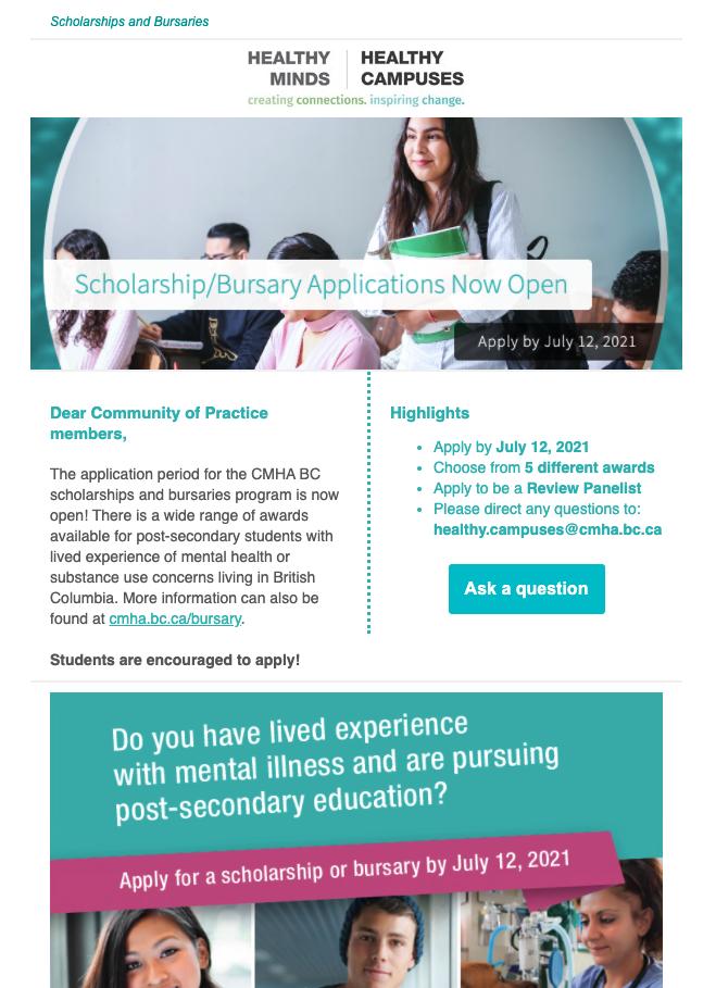 Apply for Scholarship/Bursary 2021