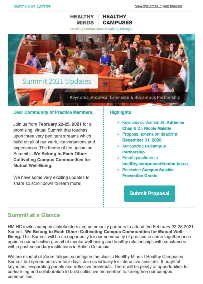 Summit 2021 Updates